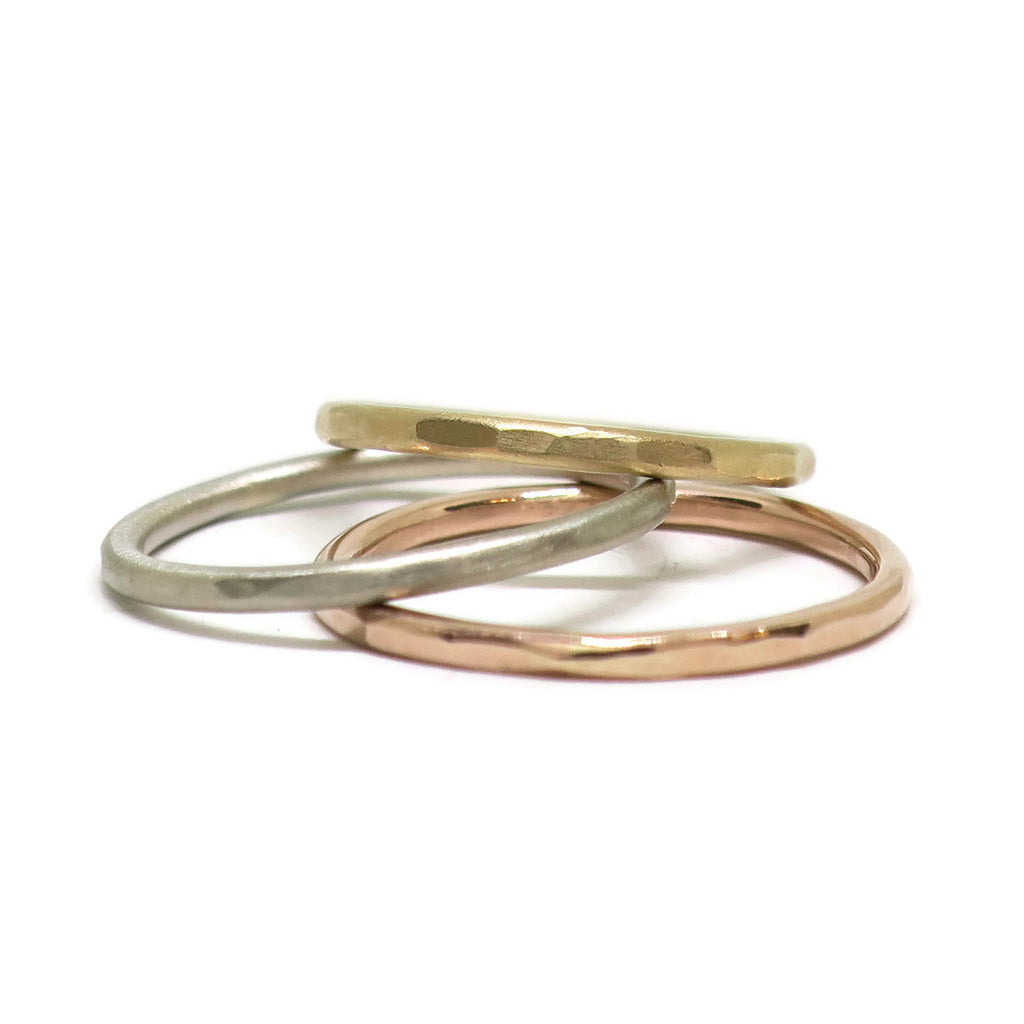 The Super Thin Facet Women's Ring