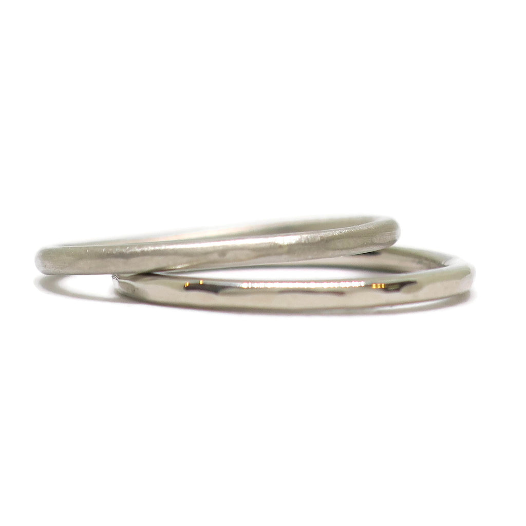 e. scott nuptials... The Super Thin Facet Women's Ring