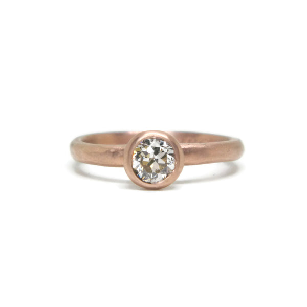 The Modern Engagement Ring - Old Mine Cut Diamond