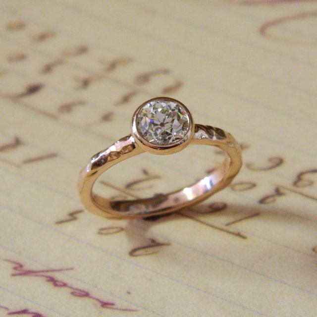 One of a kind engagement ring for Rebeccah from Max - e. scott originals