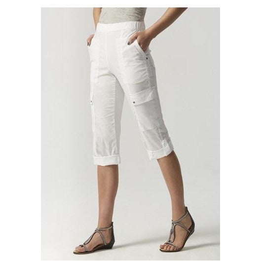Acrobat cargo short white - By Design Fashions