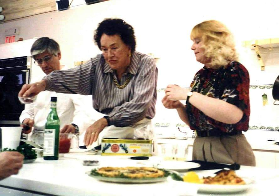 Saffron Afternoon with Julia Child