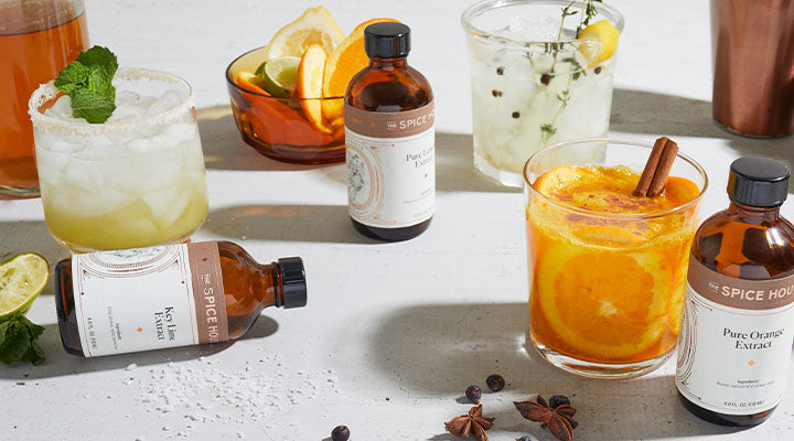 Craft cocktail recipes and ingredients