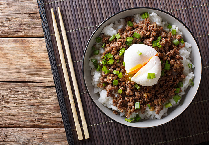 Cantonese-Inspired Minced Beef