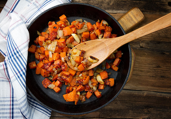 Chicken Sausage and Butternut Squash Skillet