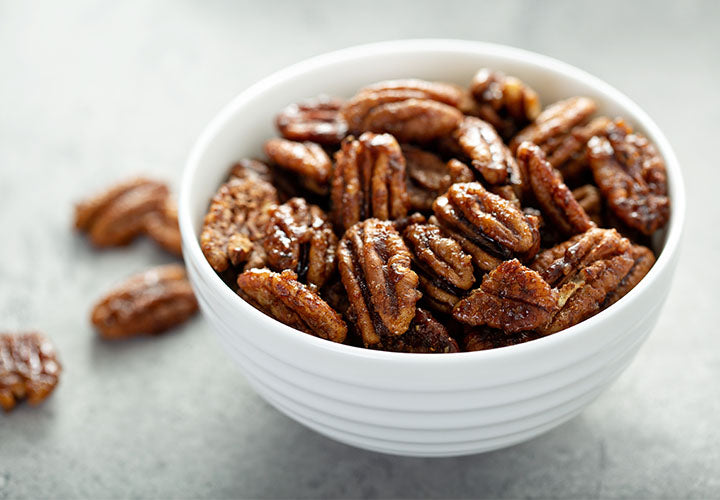 Duck Fat Roasted Walnuts