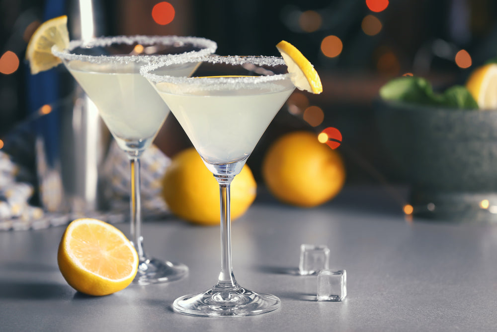 Electric Lemon Martini