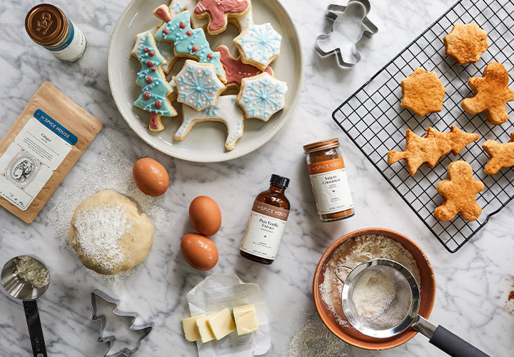 Festive Frosted Sugar Cookies