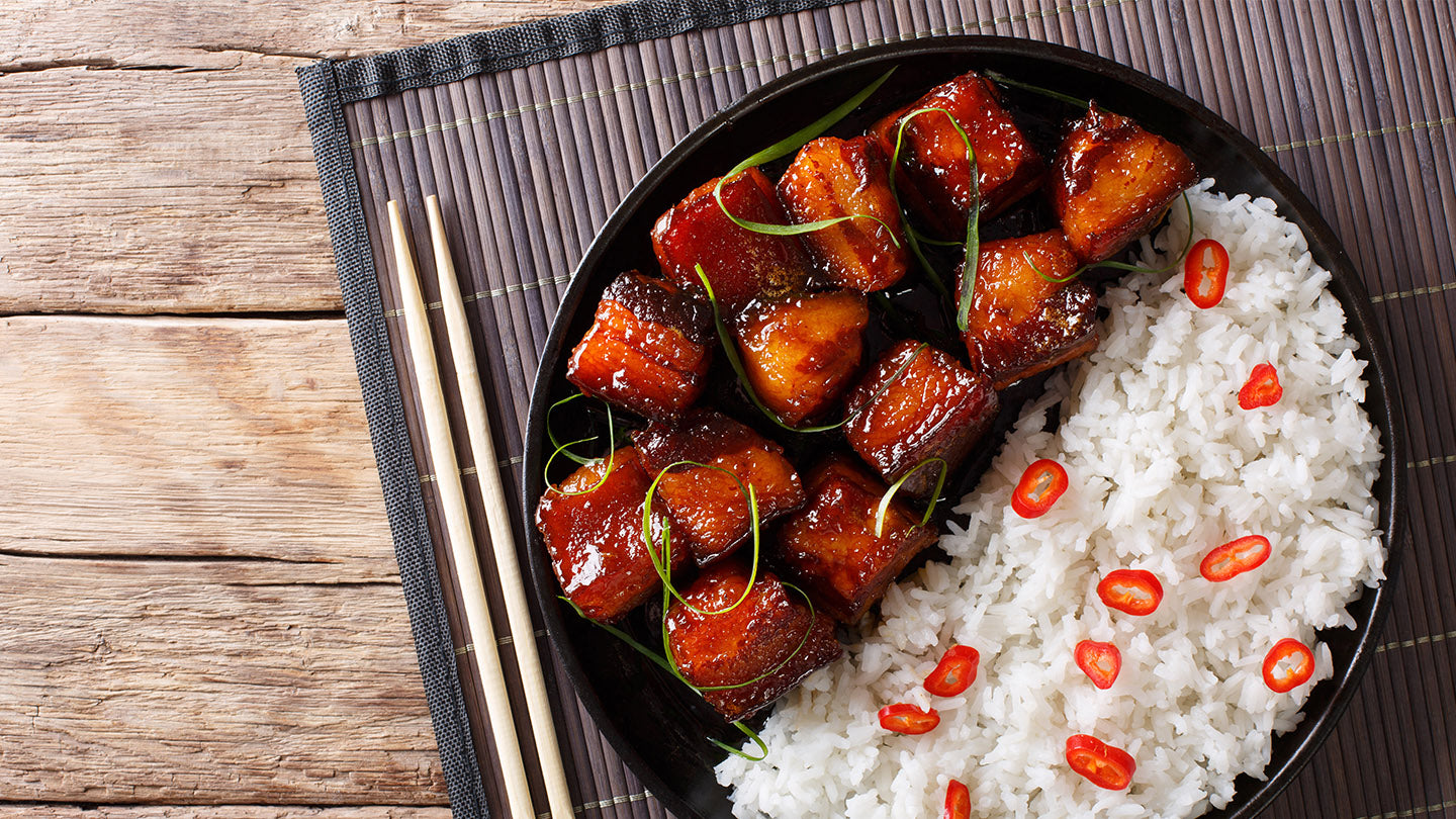 Five Spice Braised Pork Belly