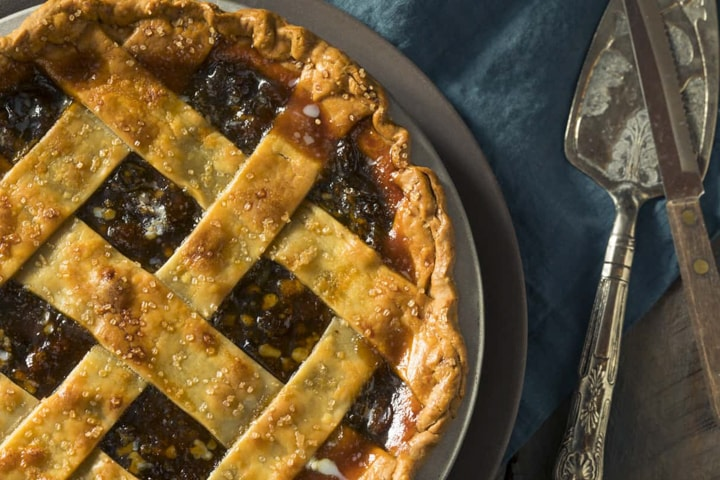 Green Tomato Mincemeat Pie