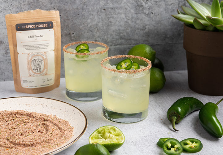 Hot Chile Lime Margarita Salt