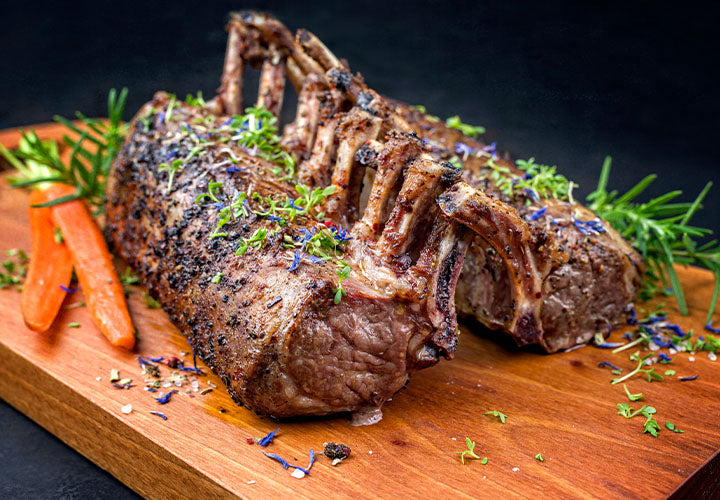 Lavender Rack of Lamb