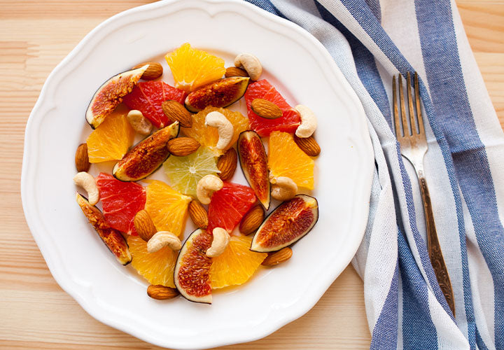 Moroccan Fruit Salad with Orange Blossom Water