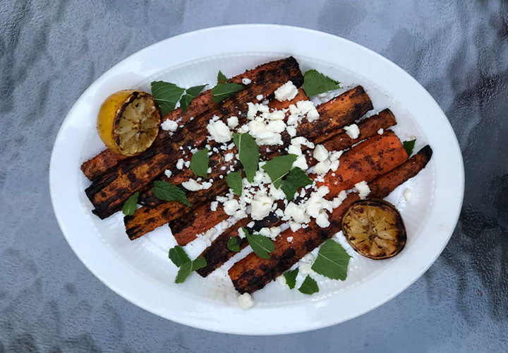 Persian-Style Grilled Carrots