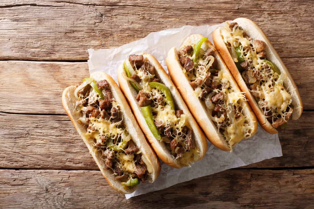 Philly Cheese Steaks with Chicago Steak Seasoning