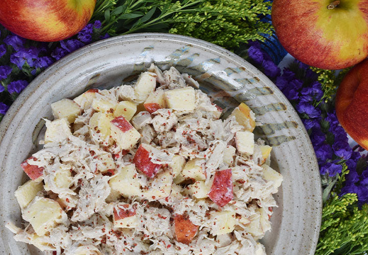 Pink Peppercorn & Curry Leaf Chicken Salad