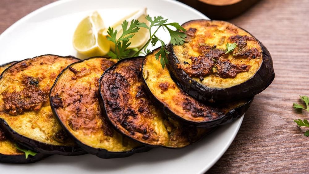 Roasted Garlic Eggplant