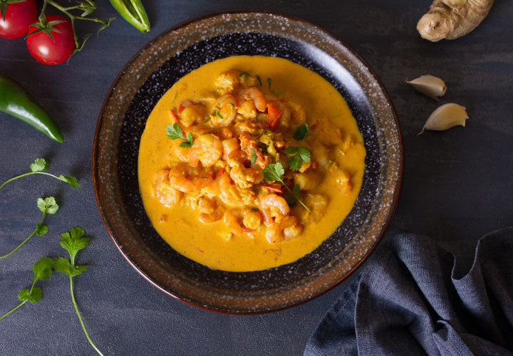Seafood in Coconut Curry