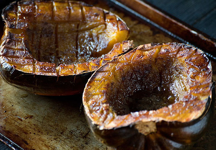 Spiced & Roasted Acorn Squash