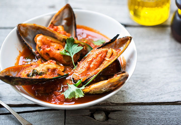 Spicy Chipotle Lime Mussels