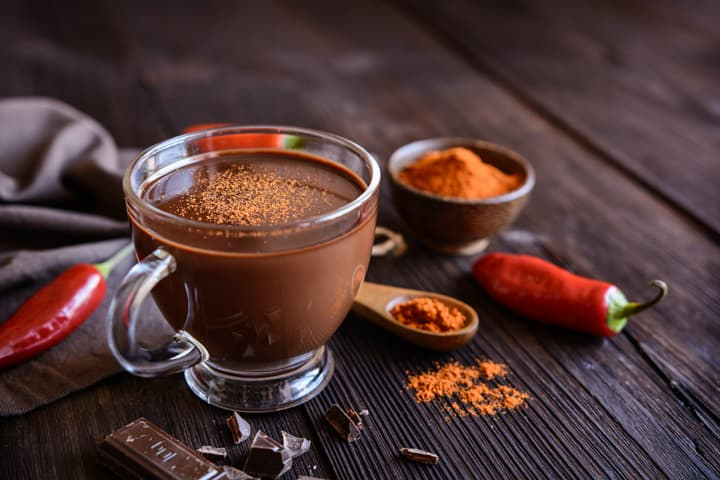 Spicy Hot Chocolate Mix