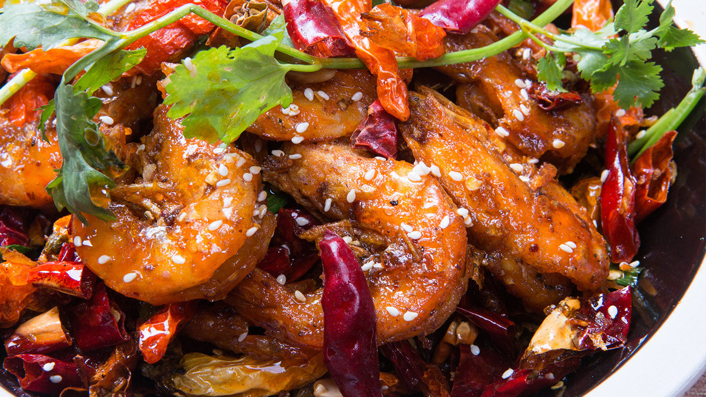 Spicy Sichuan Shrimp