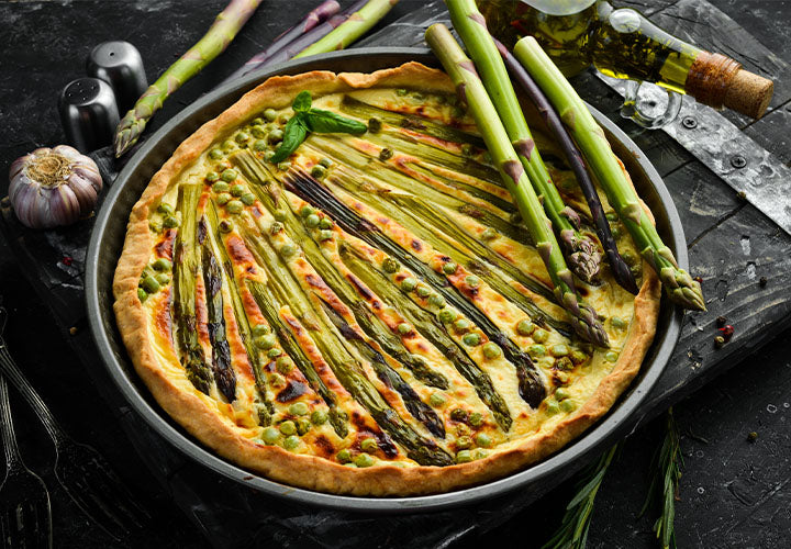 Vegan Spring Vegetable Galette