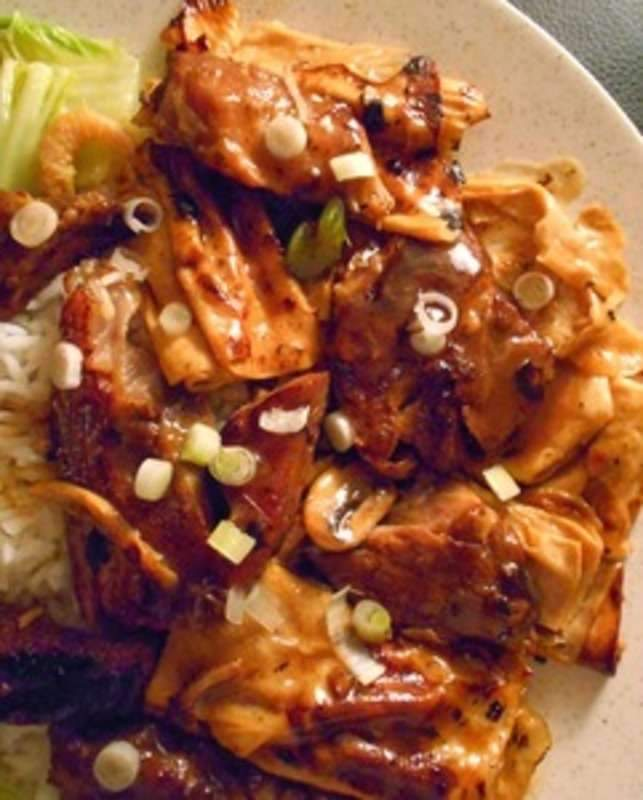 Twice-Cooked Pork with Bean Curd Sheets