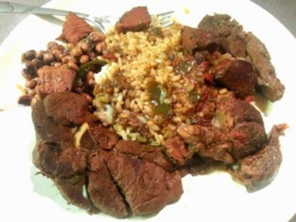 Venison Rice and Gravy