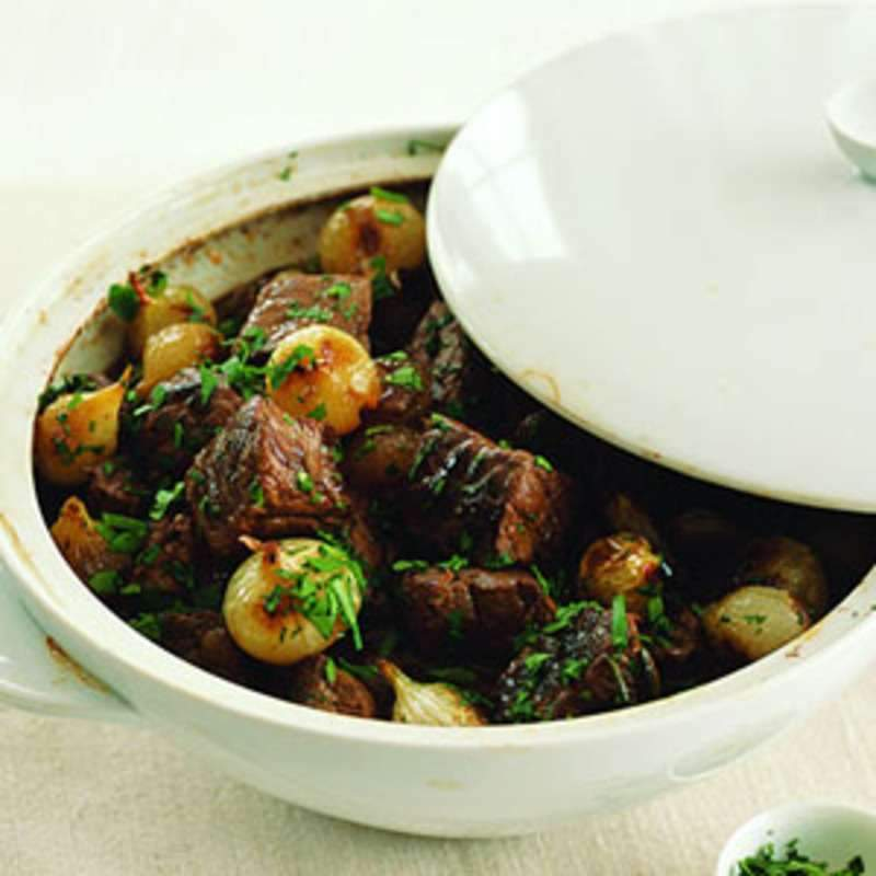 Dorothy's Stefado (Greek Beef Stew)
