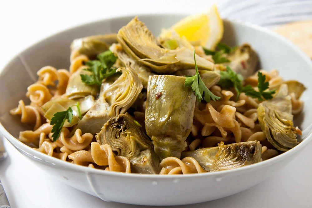 Artichoke and Olive Pasta Salad
