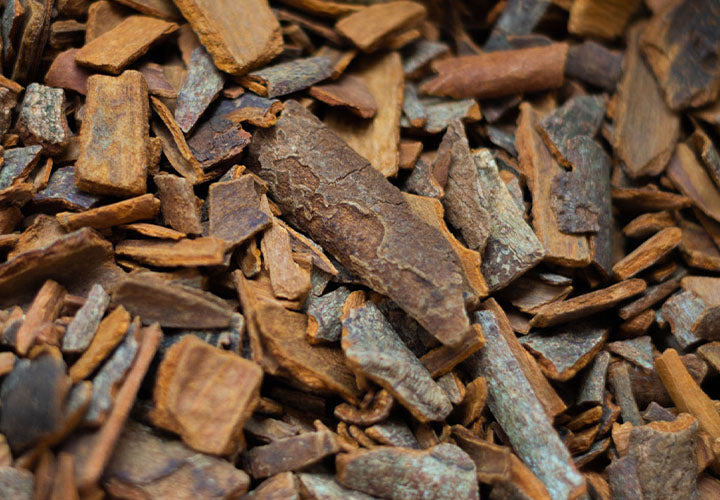 Cinnamon bark form Vietnam used for baking and cooking