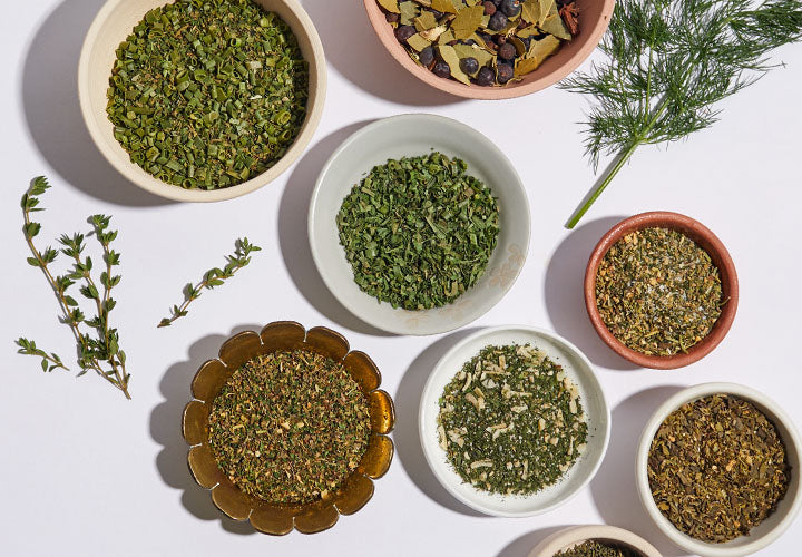 Dried herbs and herb blends
