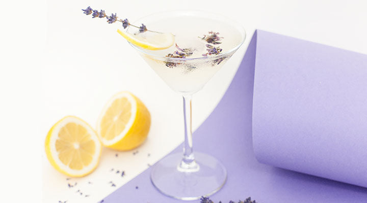 Lemon Pear Lavender Martini recipe