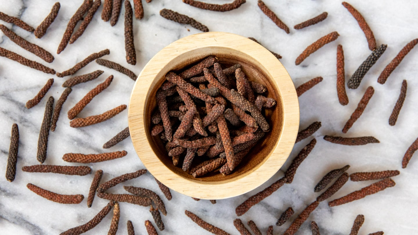 Cambodian Long Pepper, exotic spices, rare spices.