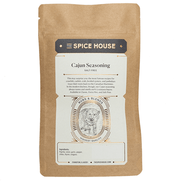 Cajun, Salt-Free Seasoning