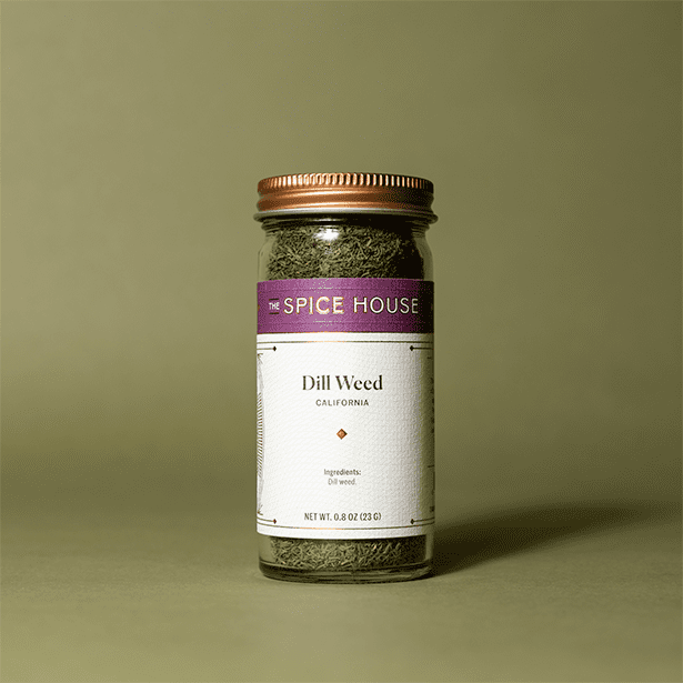 Dill Weed in a Jar