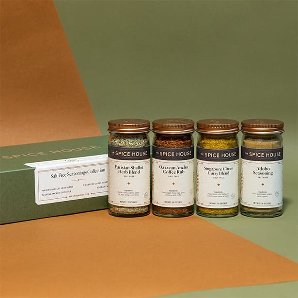 Salt Free Seasonings Collection Gift Box The Spice House