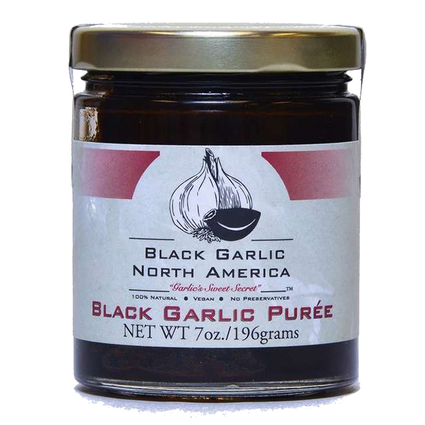 Garlic, Black Garlic Puree