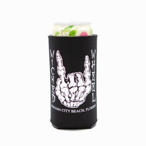 12oz Slim - Can Koozie - BONES - Glows in the dark