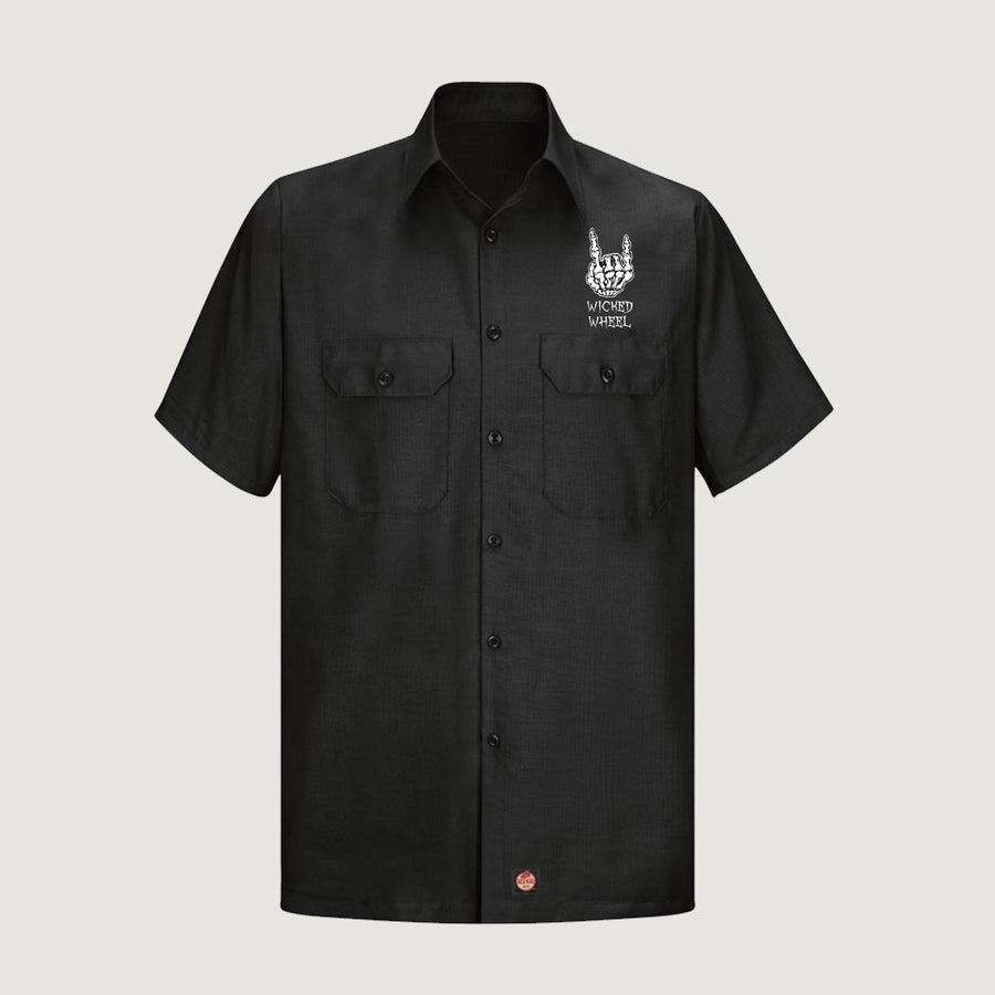 Mechanic Shirt - Bones Design