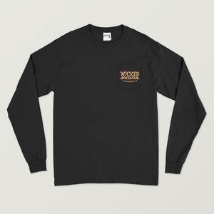BURNOUT - LONG SLEEVE - WITH POCKET