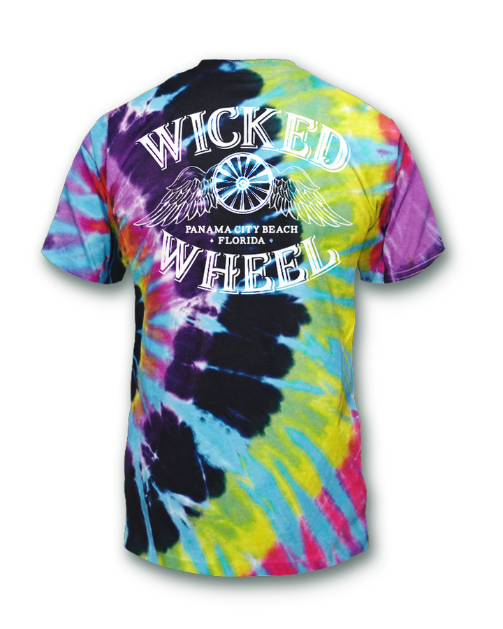 Kid's Tie-Dye Logo T-Shirt - Flashback
