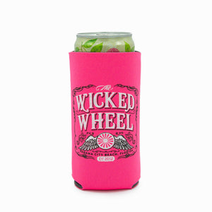 12oz Slim - Can Koozie - Hot Pink