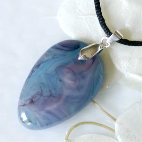 Art Glass Fused Glass Pendant