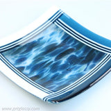 Art Glass Serving Dish