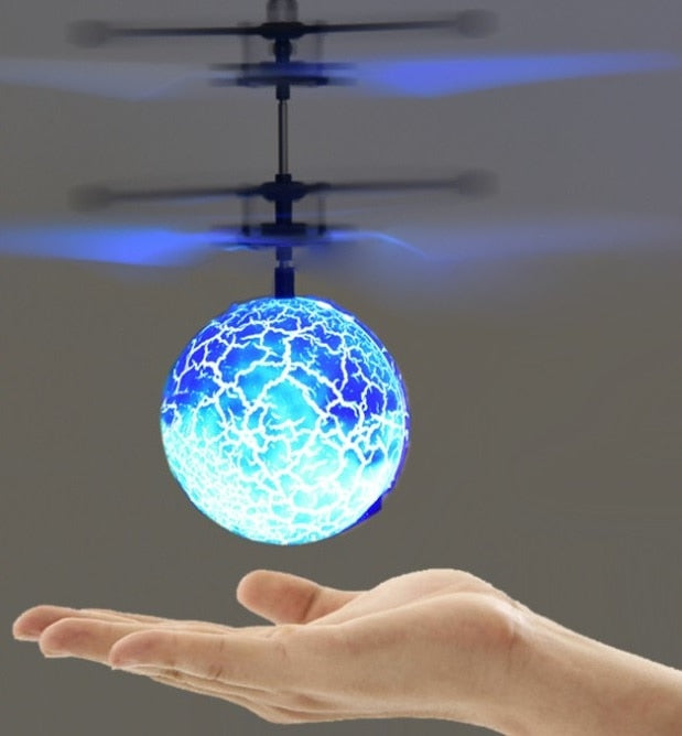 Flying RC Drone Helicopter Ball Magic Shinning Luminous LED Lighting