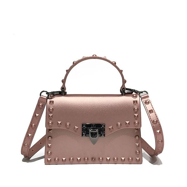 Jelly Bags For Women Solid Flap Fashion Messenger Bag
