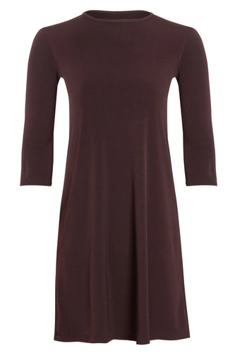 GIRLS CHOCOLATE BROWN JERSEY
