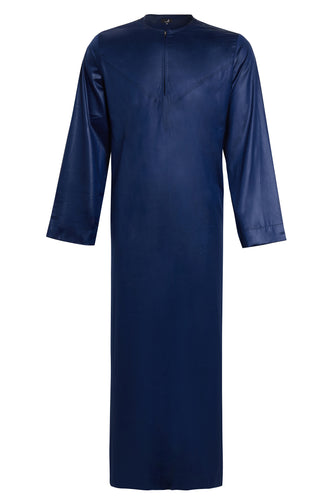 NAVY SATIN TOUCH THOBE